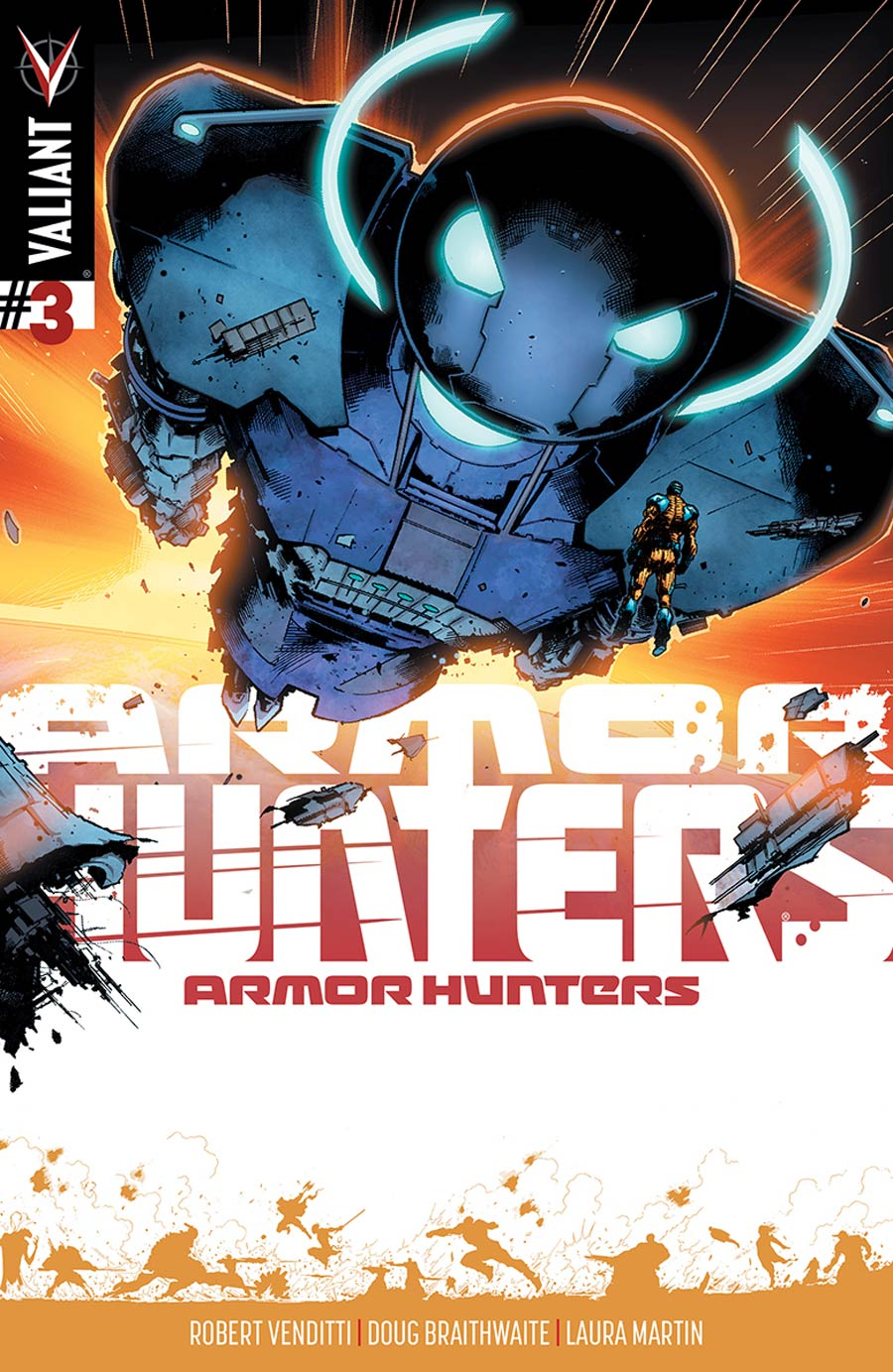Armor Hunters #3 Cover D Incentive Trevor Armor Hunters Variant Cover