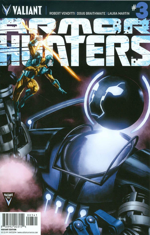 Armor Hunters #3 Cover E Incentive Mico Suayan Artist Variant Cover