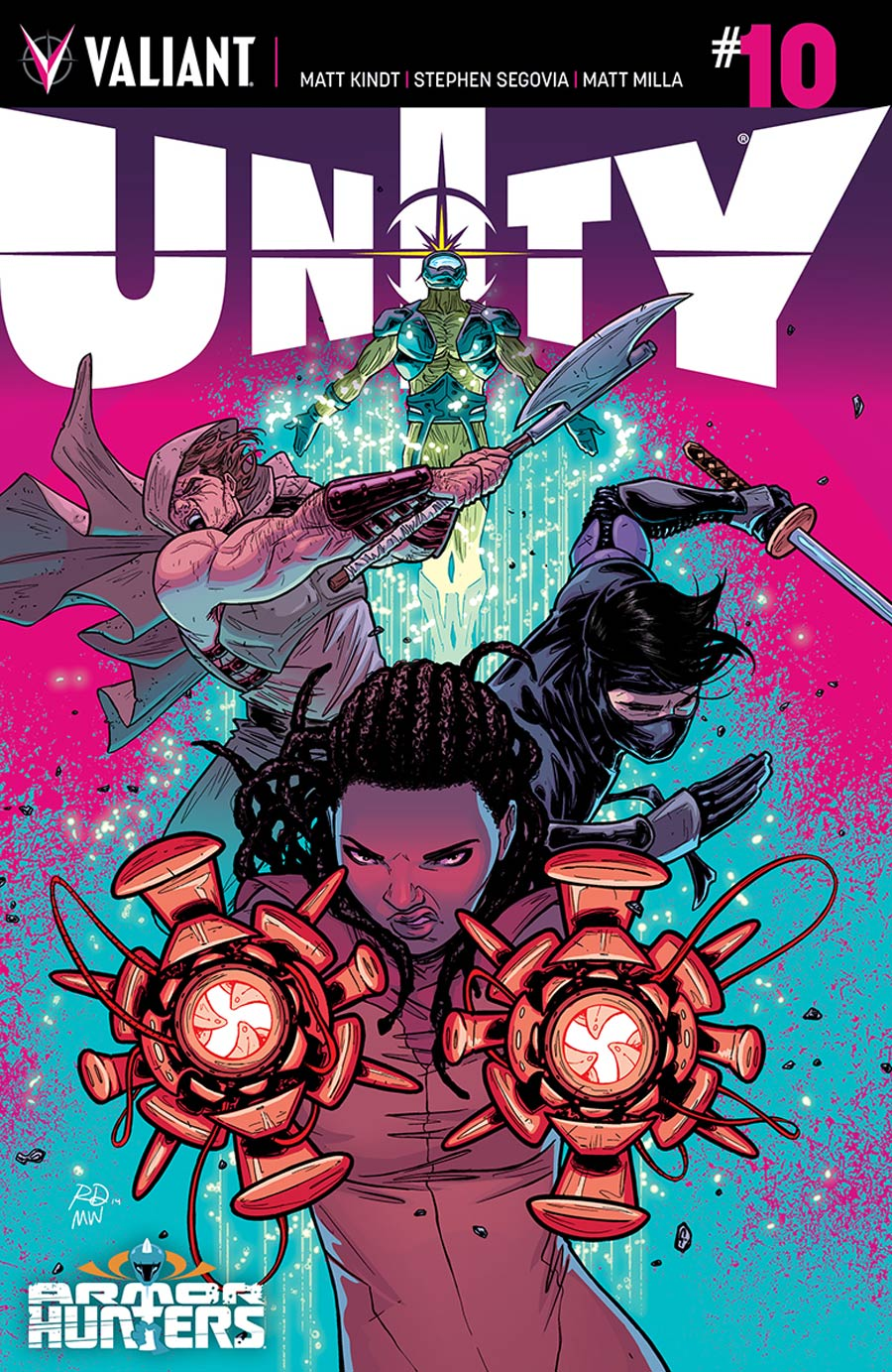 Unity Vol 2 #10 Cover D Incentive Russell Dauterman Variant Cover (Armor Hunters Tie-In)