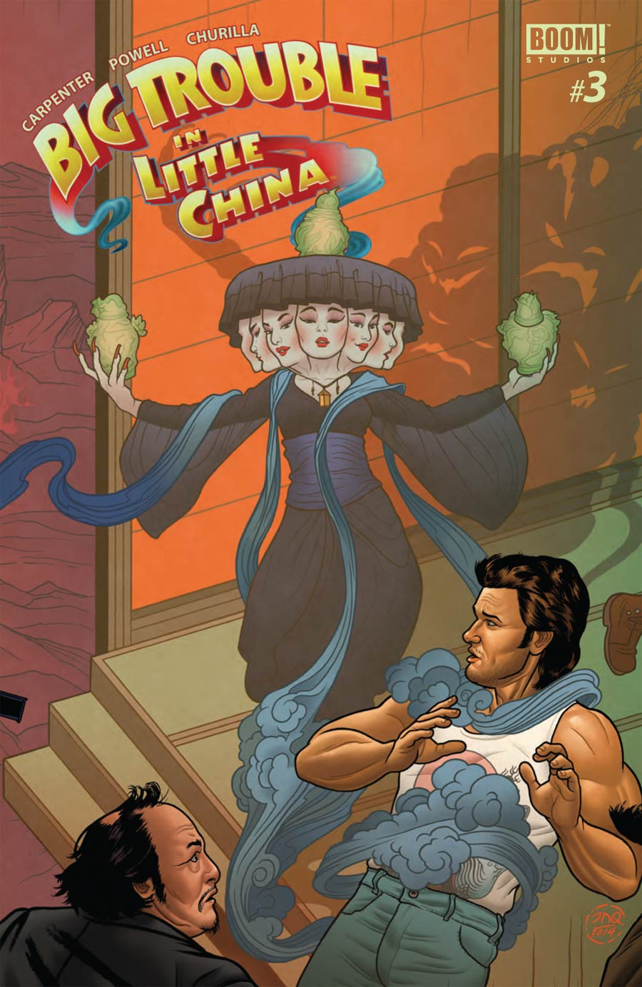 Big Trouble In Little China #3 Cover B Regular Joe Quinones Cover
