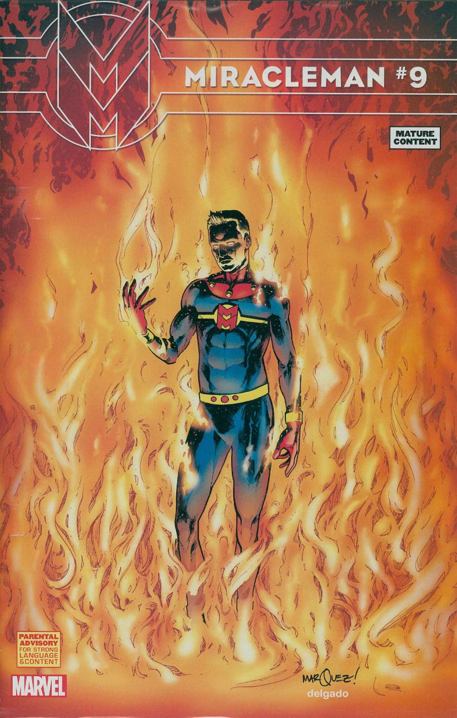 Miracleman (Marvel) #9 Cover F Incentive David Marquez Variant Cover Without Polybag