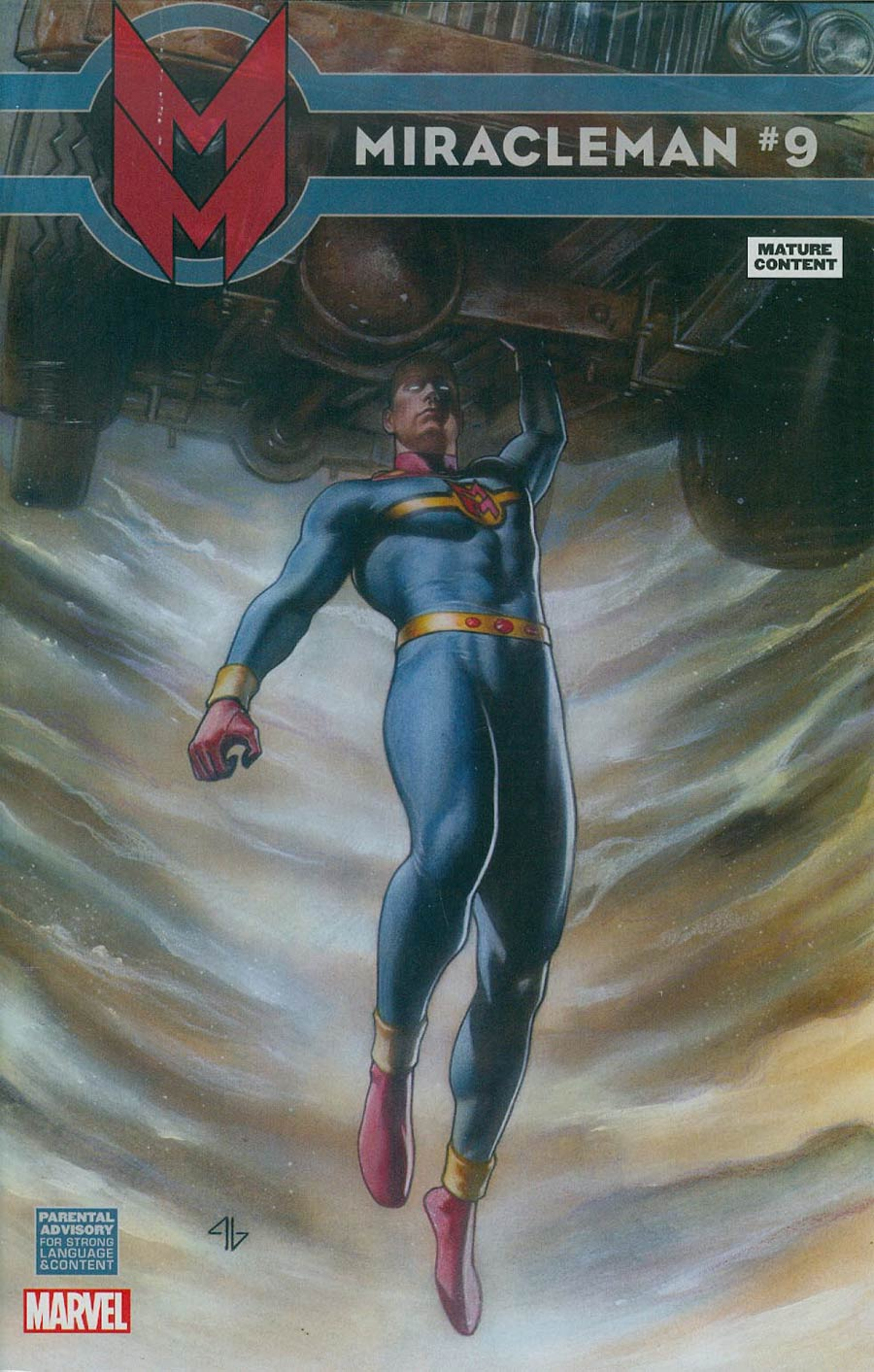 Miracleman (Marvel) #9 Cover G Incentive Adi Granov Variant Cover Without Polybag