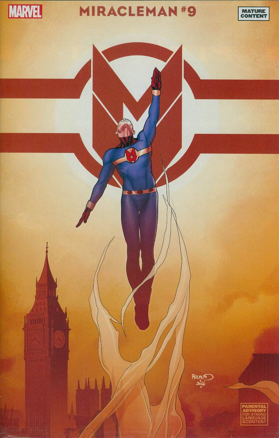 Miracleman (Marvel) #9 Cover H Incentive Paul Renaud Variant Cover Without Polybag