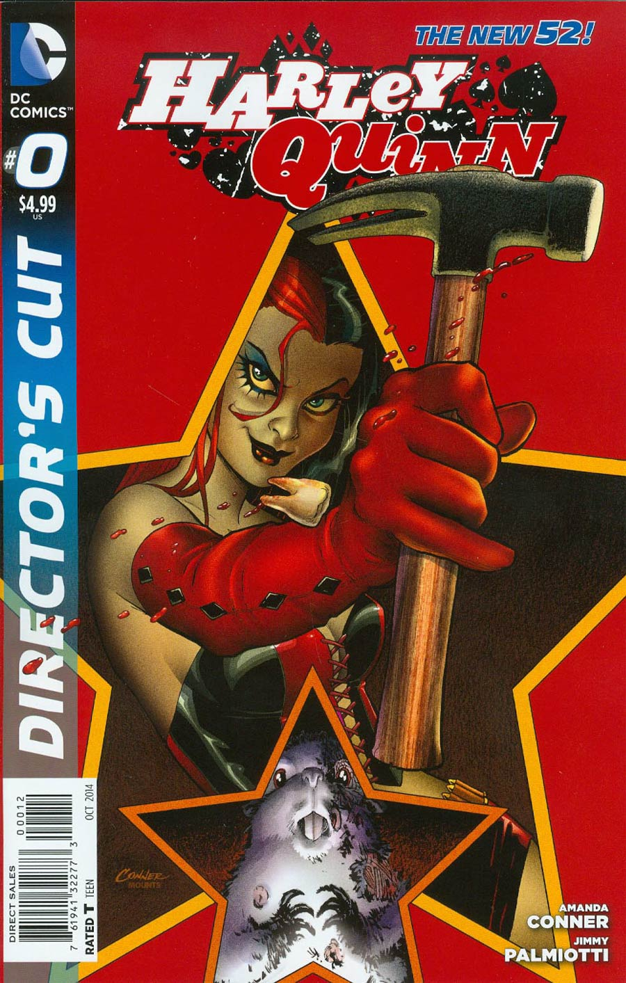 Harley Quinn Vol 2 #0 Cover F Directors Cut 2nd Ptg