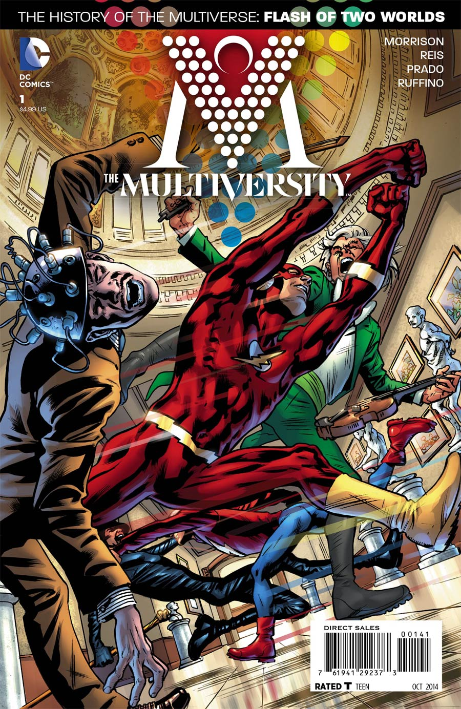 Multiversity #1 Cover E Incentive Bryan Hitch Variant Cover