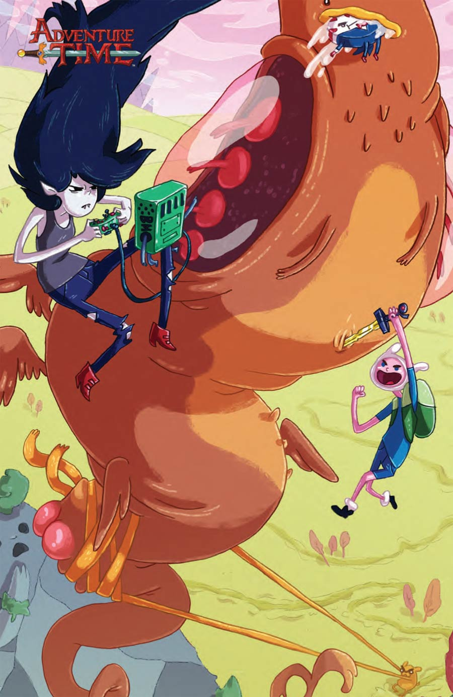 Adventure Time #31 Cover C Incentive Rachael Hunt Virgin Variant Cover