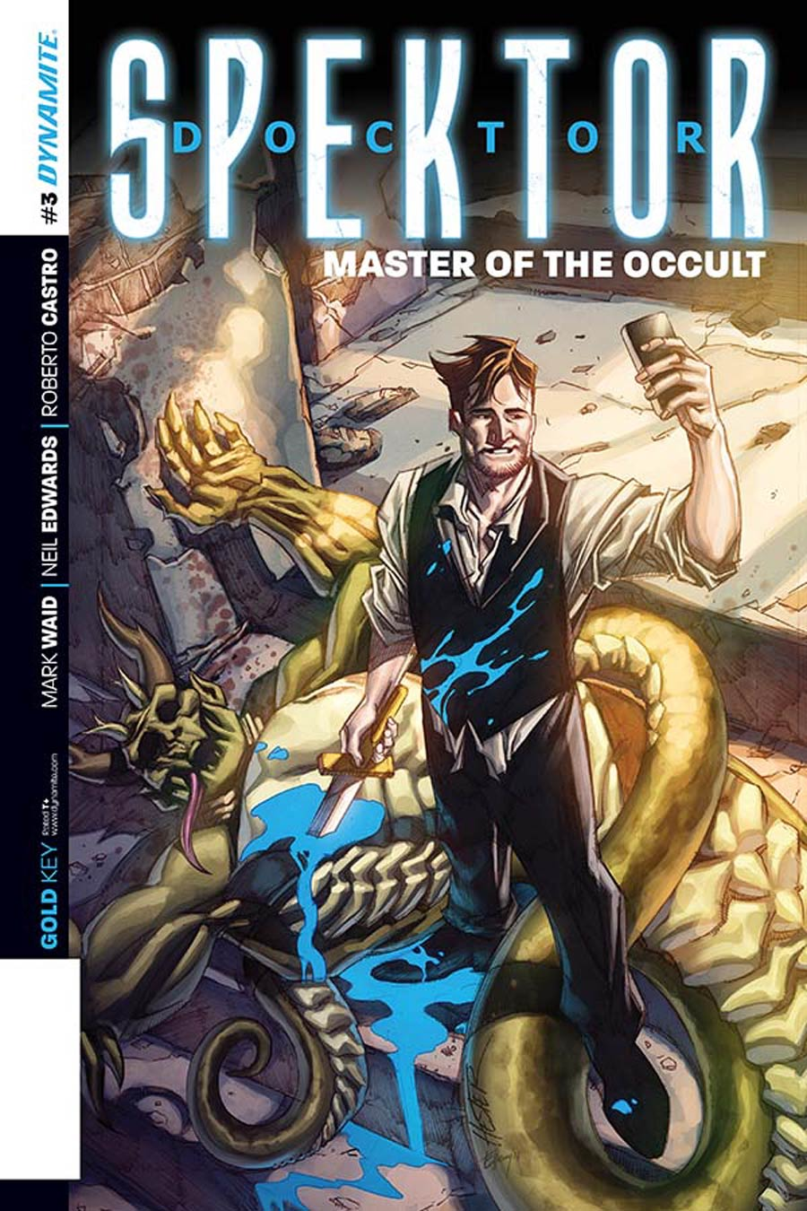 Doctor Spektor Master Of The Occult #3 Cover C Incentive Phil Hester Variant Cover