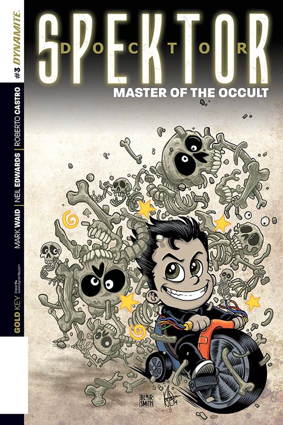 Doctor Spektor Master Of The Occult #3 Cover E Incentive Ken Haeser Lil Spektor Master Of The Occult Variant Cover