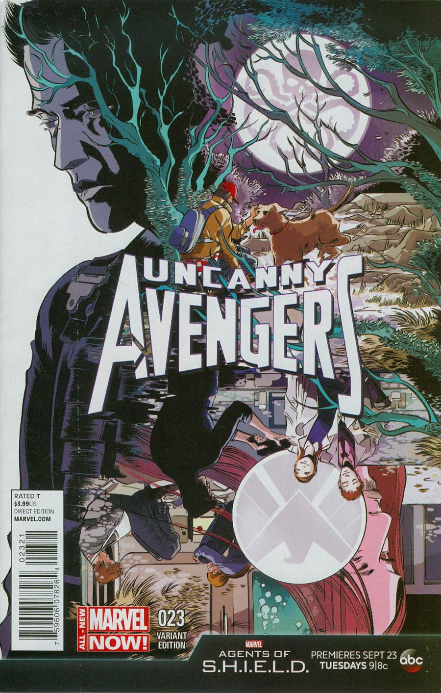 Uncanny Avengers #23 Cover B Incentive Agents Of S.H.I.E.L.D. Variant Cover
