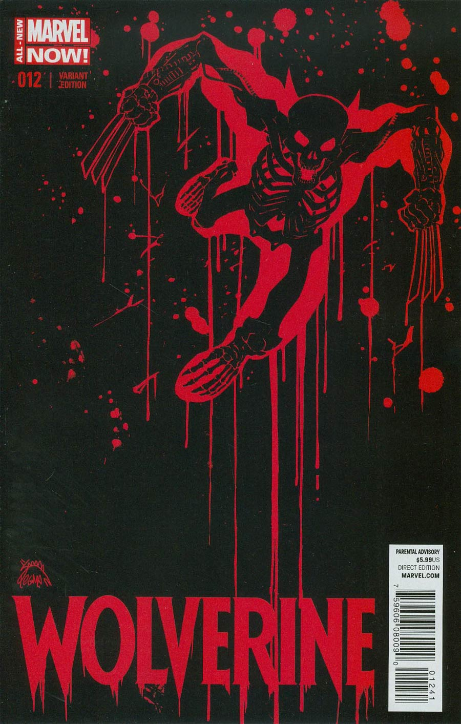 Wolverine Vol 6 #12 Cover B Incentive Ryan Stegman Variant Cover (3 Months To Die Part 5)