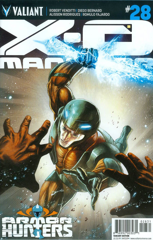 X-O Manowar Vol 3 #28 Cover D Incentive Stephen Segovia Variant Cover (Armor Hunters Tie-In)
