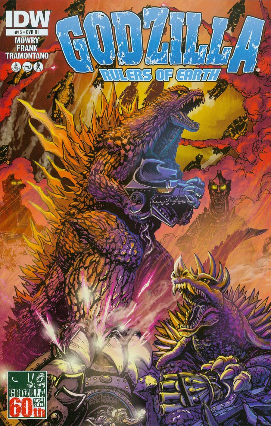 Godzilla Rulers Of The Earth #15 Cover B Incentive Jeff Zornow Variant Cover