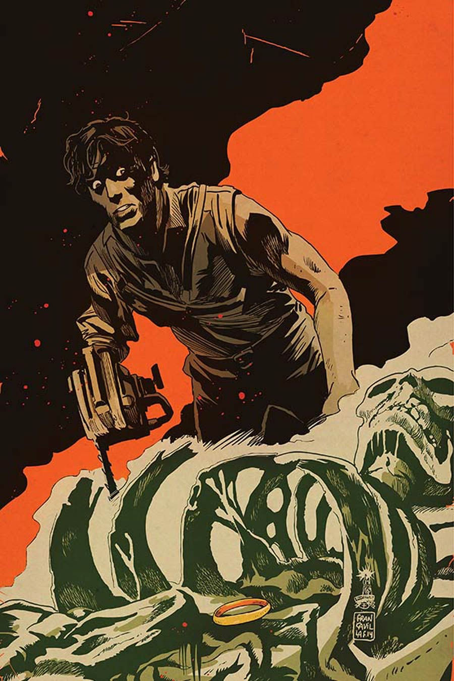 Army Of Darkness Ash Gets Hitched #2 Cover E Incentive Francesco Francavilla Virgin Cover
