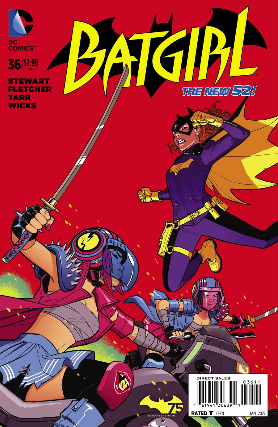 Batgirl Vol 4 #36 Cover A Regular Cameron Stewart Cover