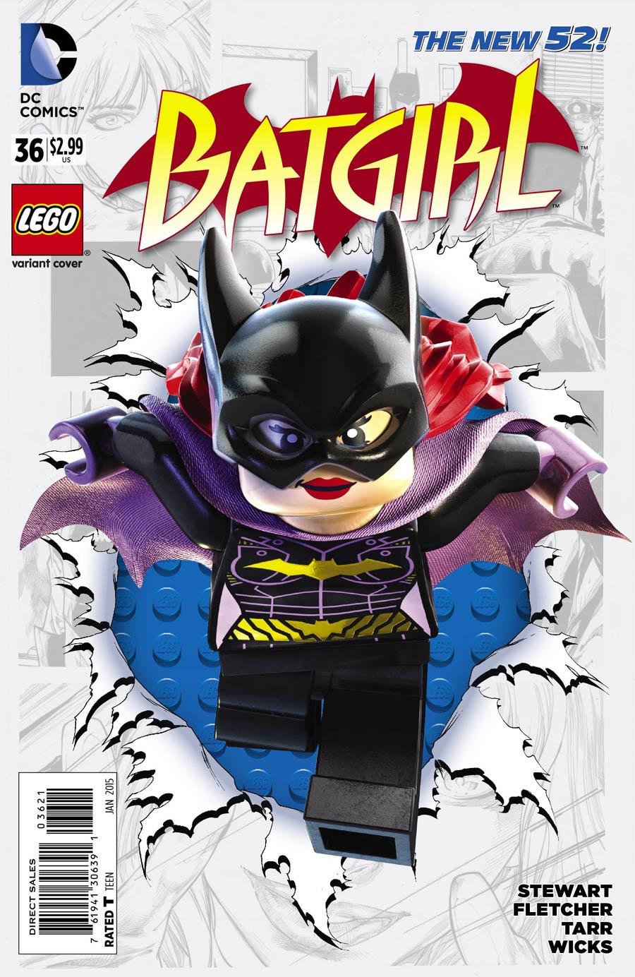 Batgirl Vol 4 #36 Cover B Variant DC Lego Cover