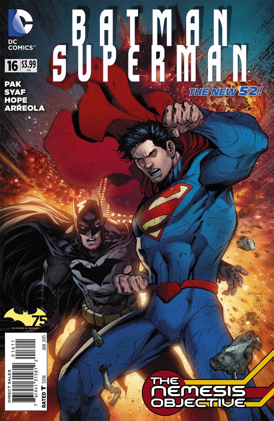 Batman Superman #16 Cover A Regular Ardian Syaf Cover