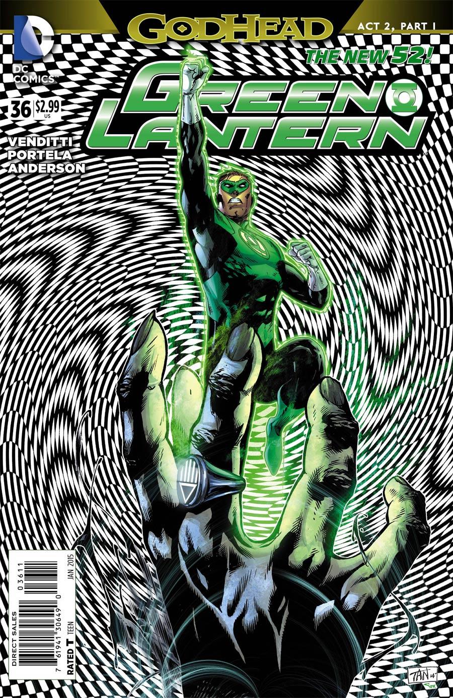 Green Lantern Vol 5 #36 Cover A Regular Francis Portela Cover (Godhead Act 2 Part 1)