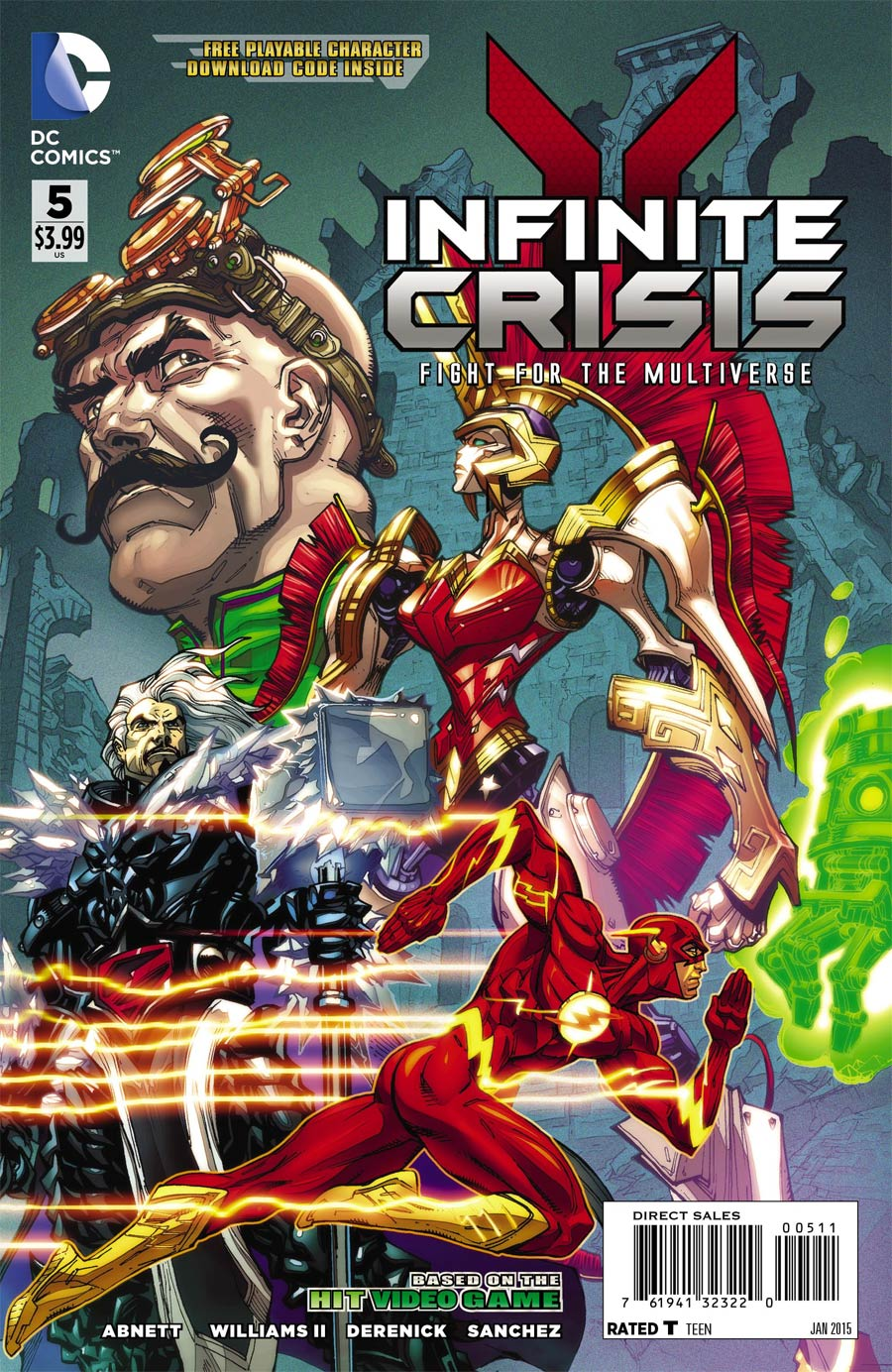 Infinite Crisis Fight For The Multiverse #5 Cover A With Polybag