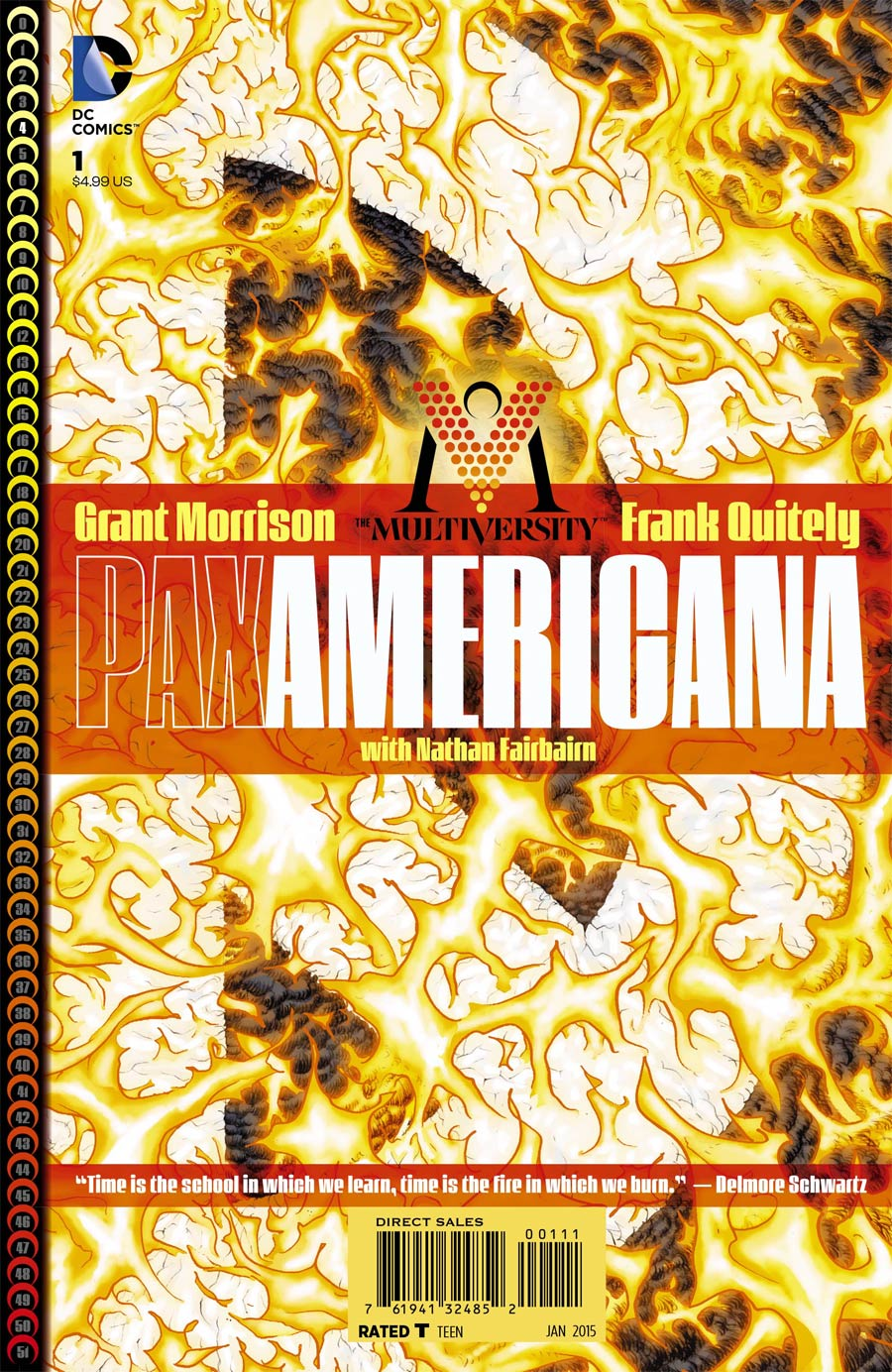 Multiversity Pax Americana #1 Cover A Regular Frank Quitely Cover