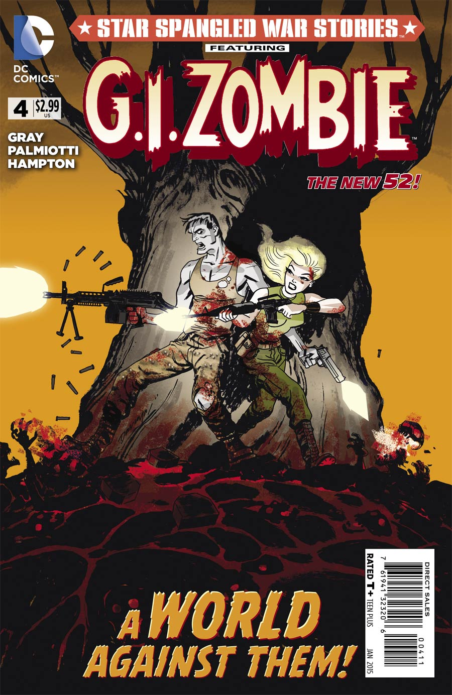 Star-Spangled War Stories Featuring GI Zombie #4