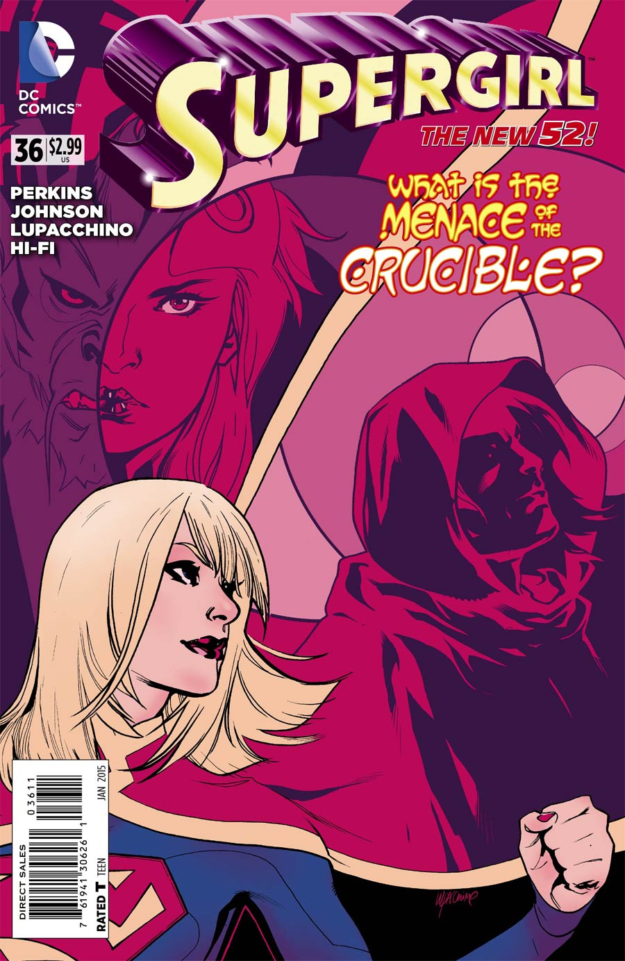 Supergirl Vol 6 #36 Cover A Regular Emanuela Lupacchino Cover