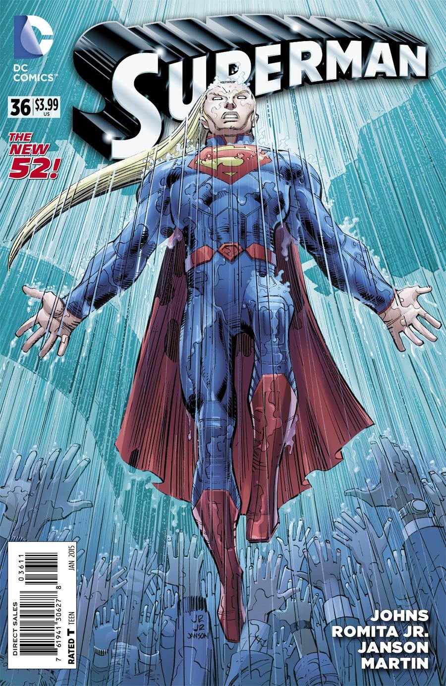 Superman Vol 4 #36 Cover A Regular John Romita Jr Cover