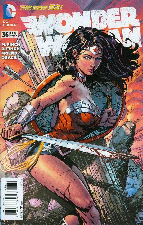 Wonder Woman Vol 4 #36 Cover A Regular David Finch Cover