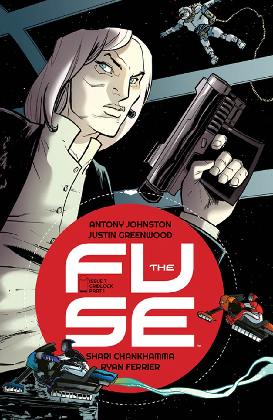 Fuse #7 Cover A Justin Greenwood
