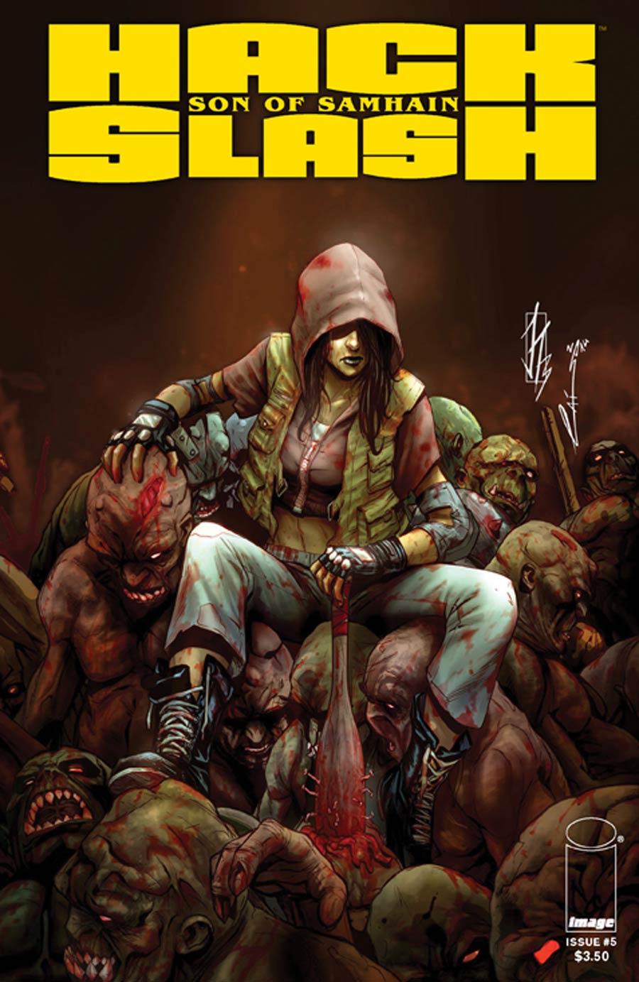 Hack Slash Son Of Samhain #5