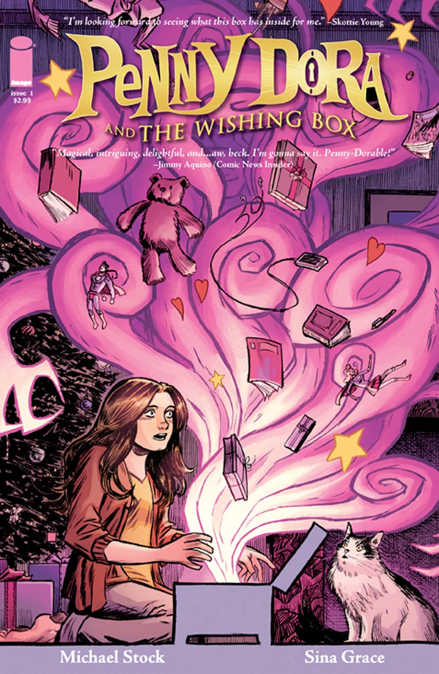 Penny Dora And The Wishing Box #1 Cover A Sina Grace