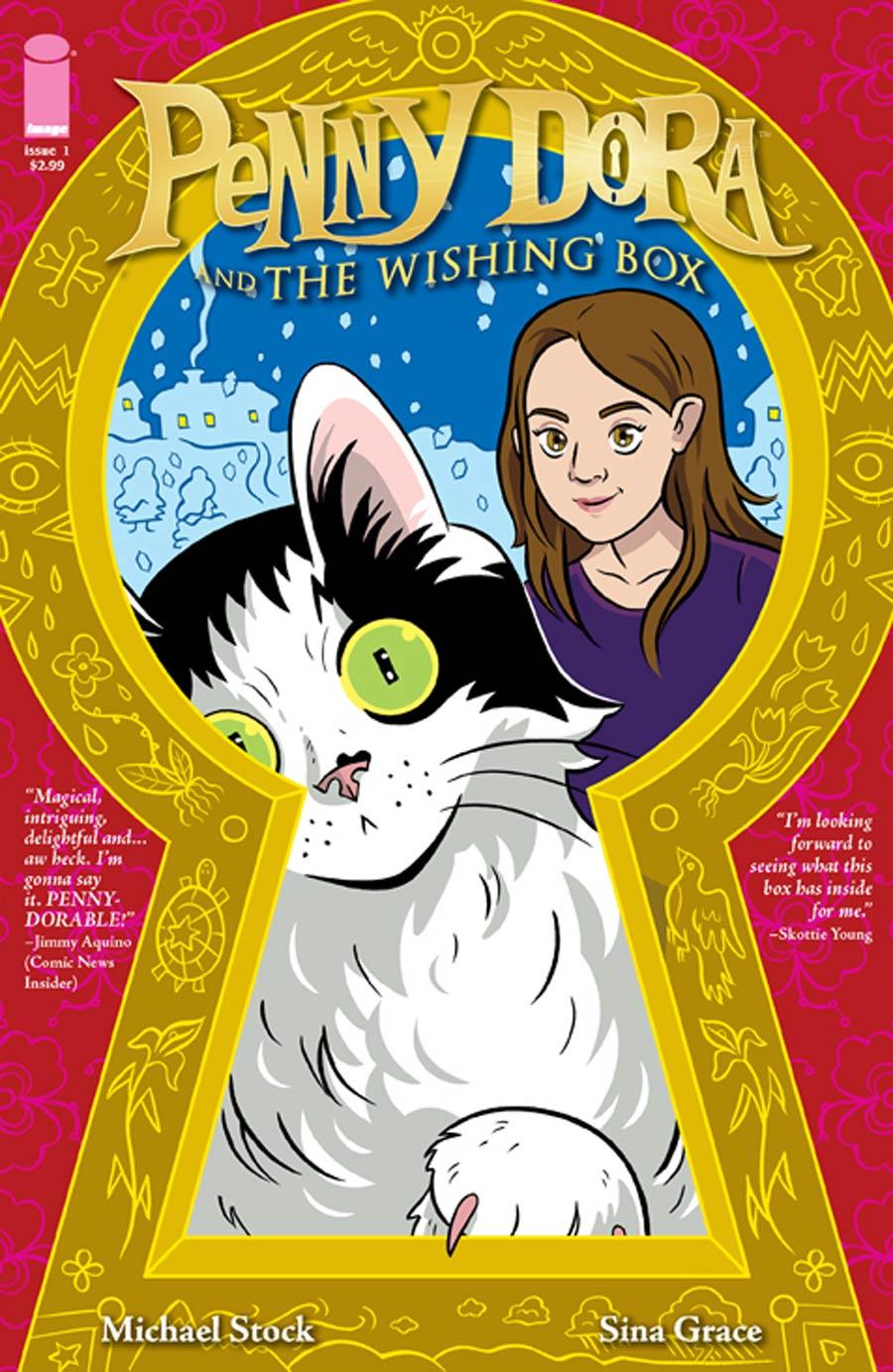 Penny Dora And The Wishing Box #1 Cover B Hope Larson
