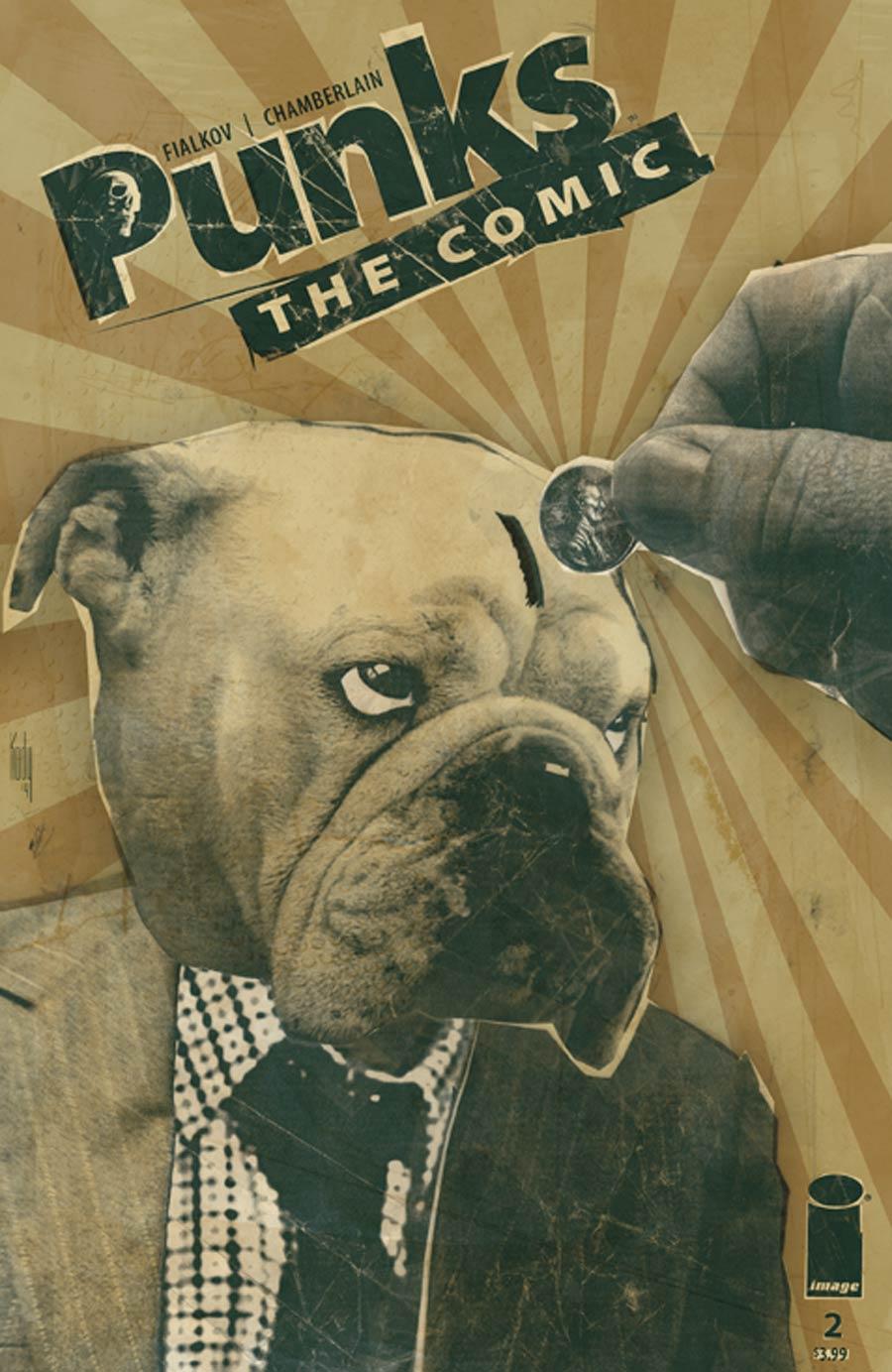 Punks The Comic #2 Cover A Kody Chamberlain