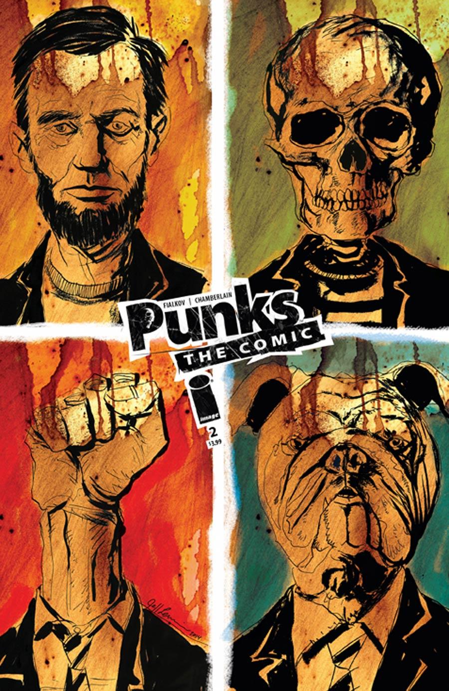 Punks The Comic #2 Cover B Jeff Lemire