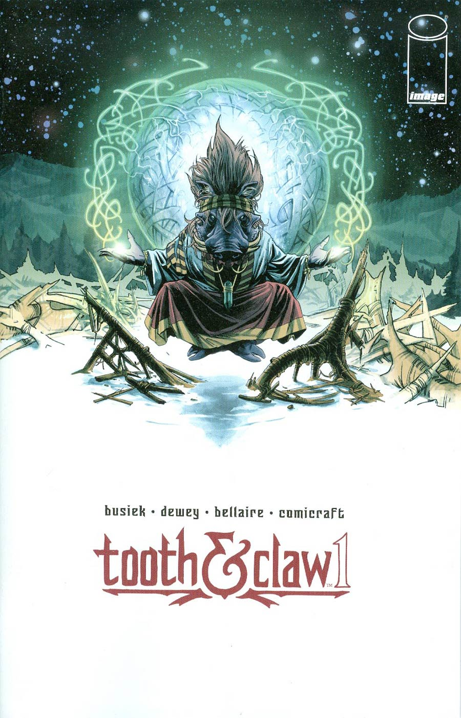 Autumnlands Tooth & Claw #1 Cover A 1st Ptg Regular Ben Dewey Color Cover