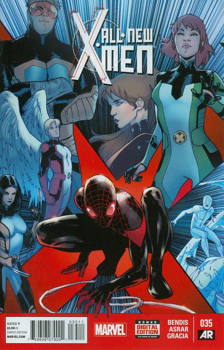 All-New X-Men #35 Cover A Regular Sara Pichelli Cover