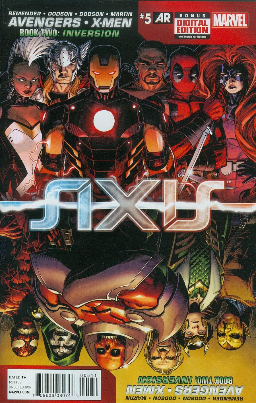 Avengers & X-Men AXIS #5 Cover A Regular Jim Cheung Cover
