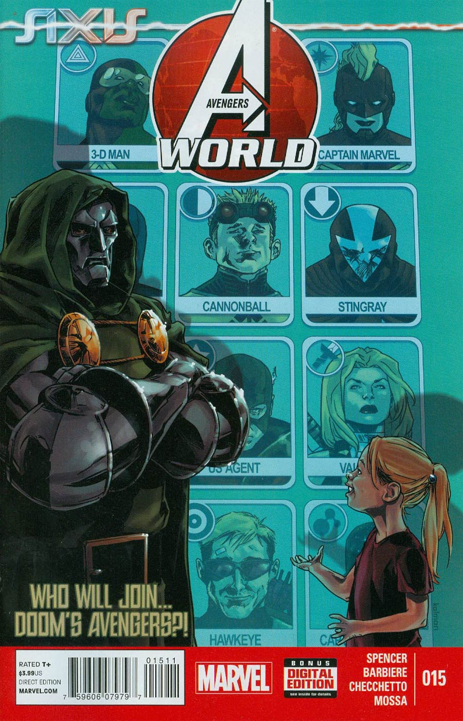 Avengers World #15 Cover A Regular Kalman Andrasofszky Cover (AXIS Tie-In)
