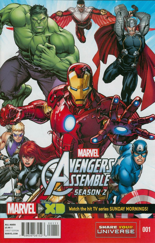 Marvel Universe Avengers Assemble Season 2 #1 Cover A Regular Cover