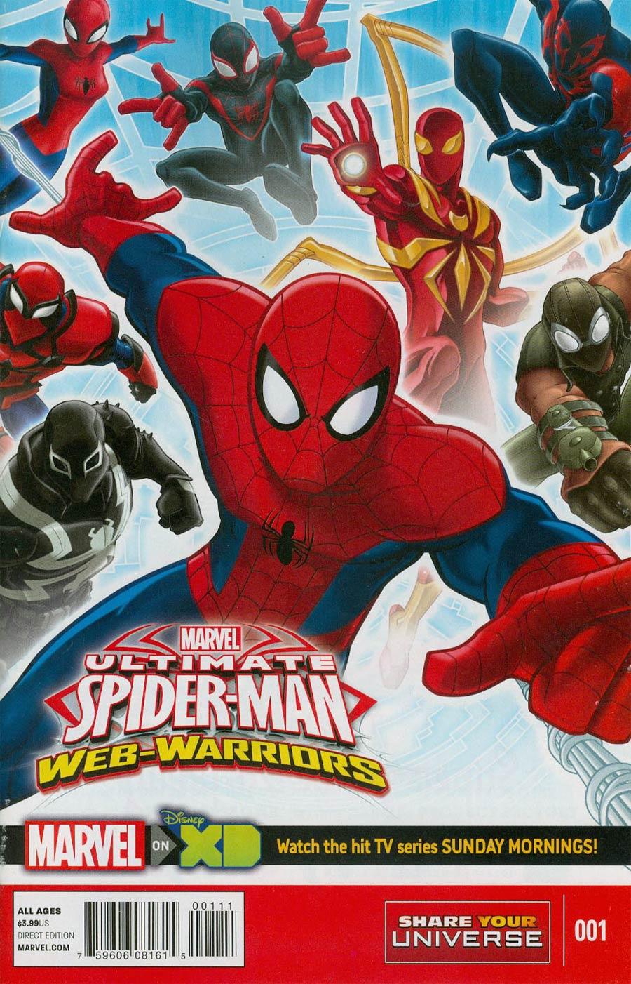Marvel Universe Ultimate Spider-Man Web Warriors #1