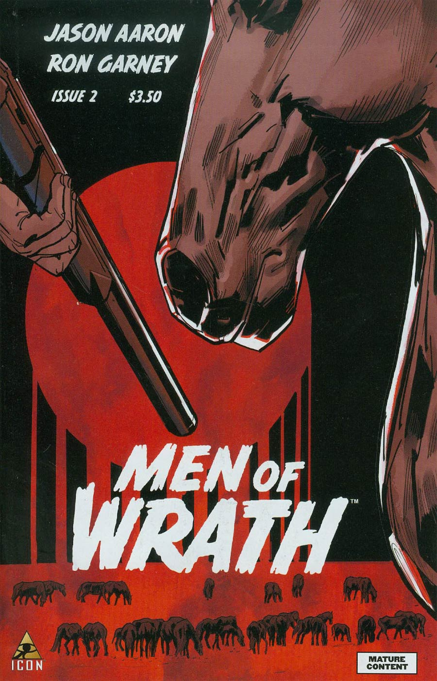 Men Of Wrath By Jason Aaron #2 Cover A Regular Ron Garney Cover