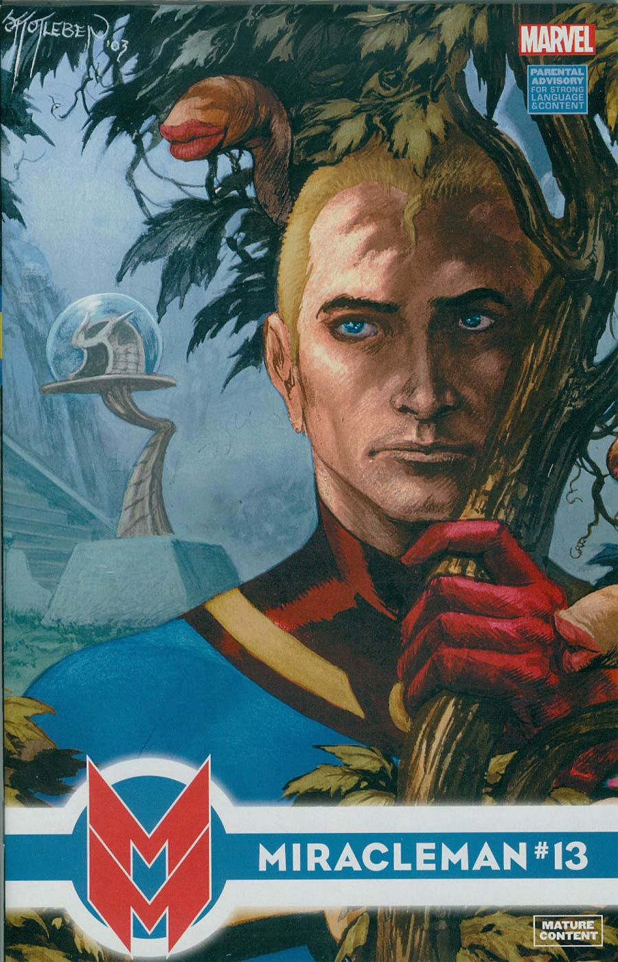 Miracleman (Marvel) #13 Cover A Regular John Totleben Cover With Polybag
