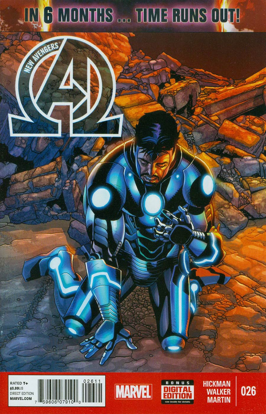 New Avengers Vol 3 #26 Cover A Regular Salvador Larroca Cover (Time Runs Out Tie-In)