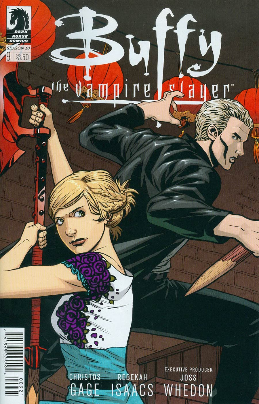 Buffy The Vampire Slayer Season 10 #9 Cover B Variant Rebekah Isaacs Cover