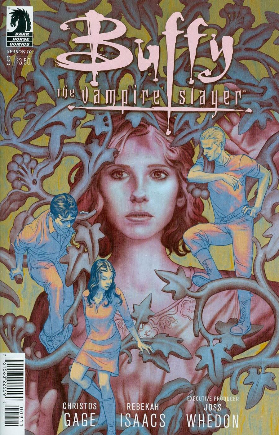 Buffy The Vampire Slayer Season 10 #9 Cover A Regular Steve Morris Cover