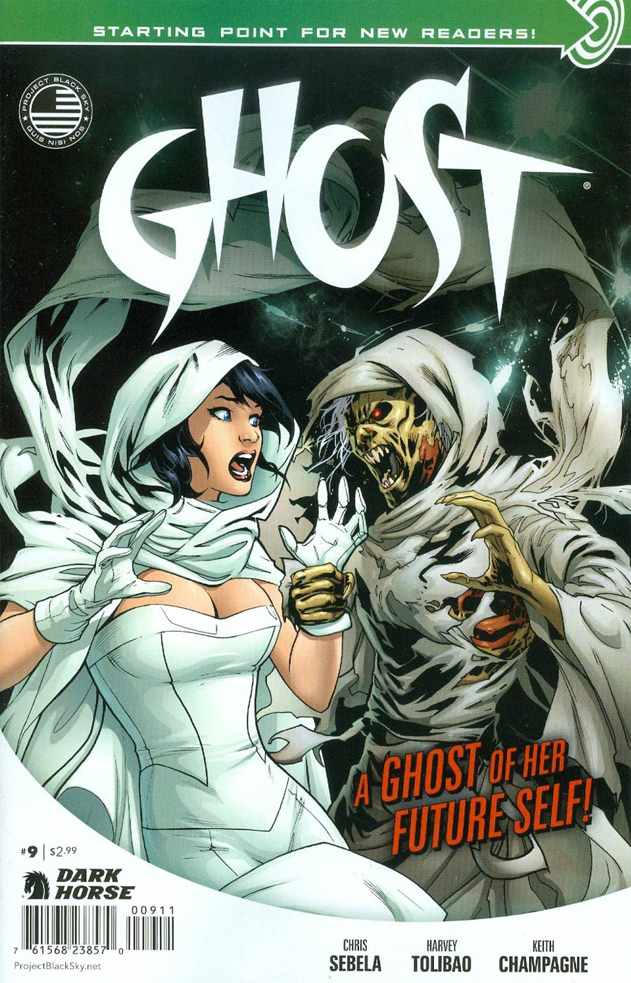 Ghost Vol 4 #9