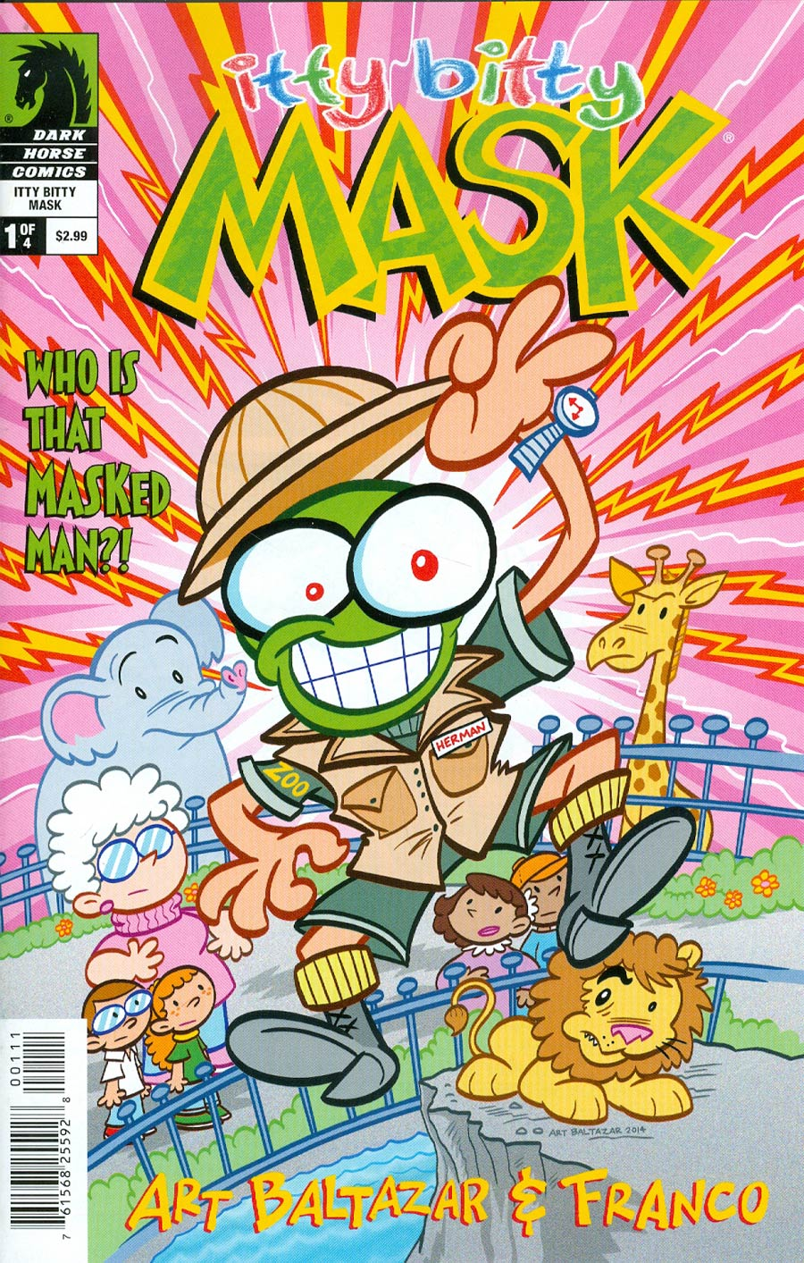 Itty Bitty Comics The Mask #1