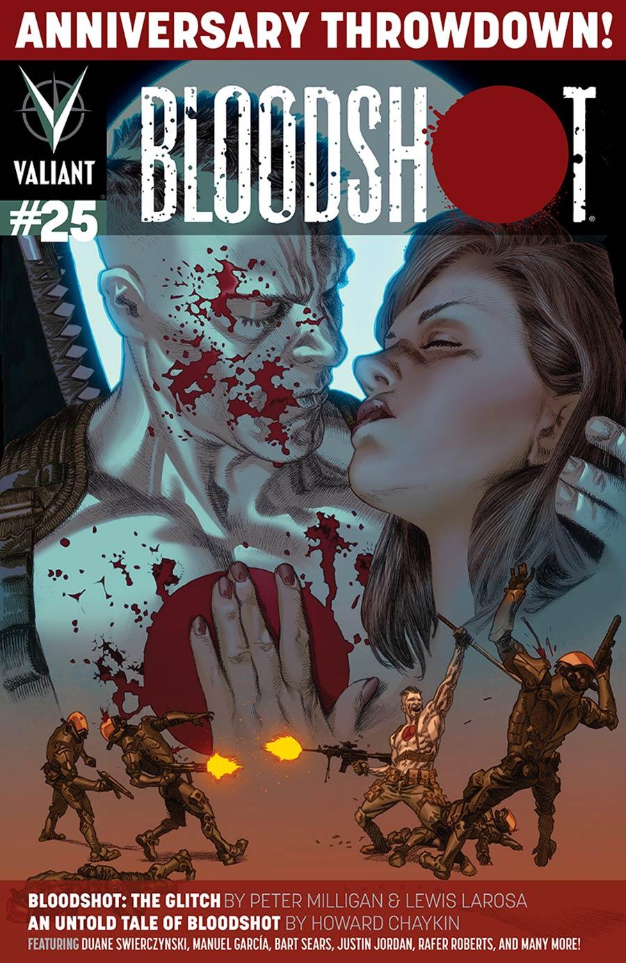 Bloodshot Vol 3 #25 Cover A Regular Lewis LaRosa Cover