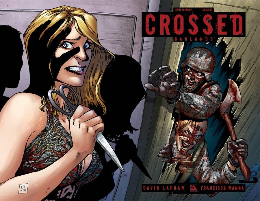 Crossed Badlands #66 Cover B Wraparound Cover