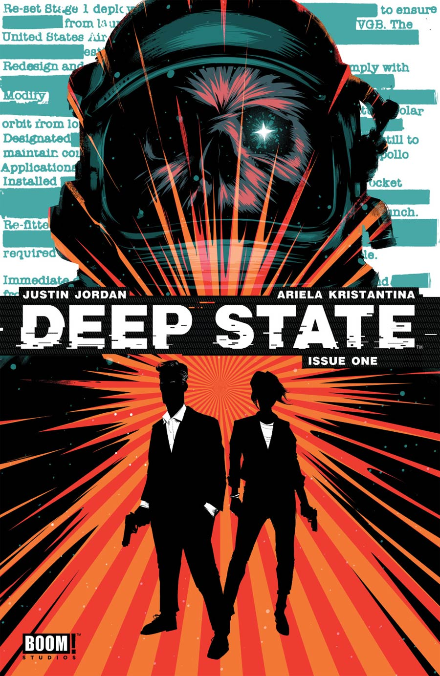 Deep State #1 Cover A Regular Matt Taylor Cover