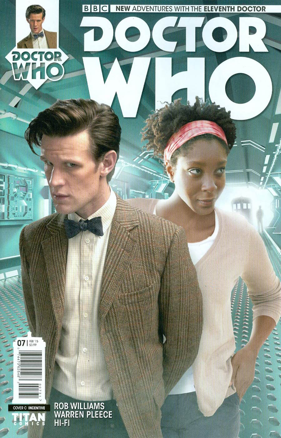 Doctor Who 11th Doctor #7 Cover C Variant Photo Holidays Cover